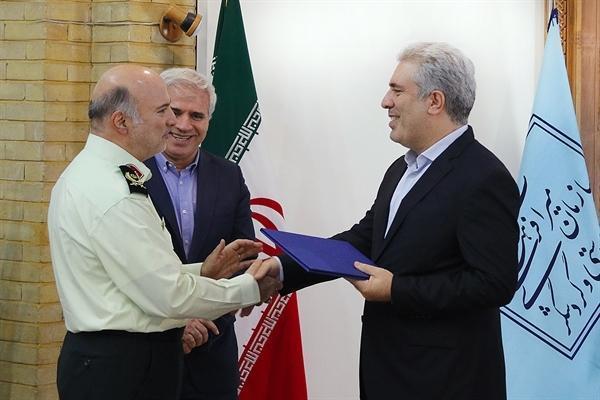 رئیس سازمان میراث فرهنگی از فرمانده یگان حفاظت تجلیل کرد