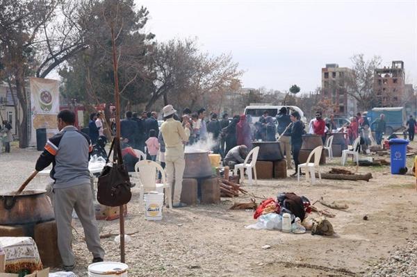 جشنواره سمنو پزان در بجنورد برگزار گردید