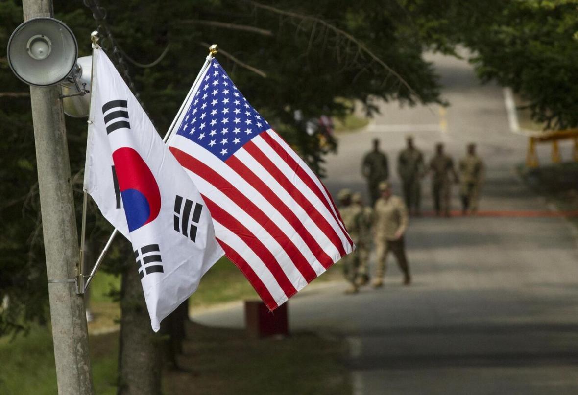 ابتلای سرباز آمریکایی در کره جنوبی به ویروس کرونا