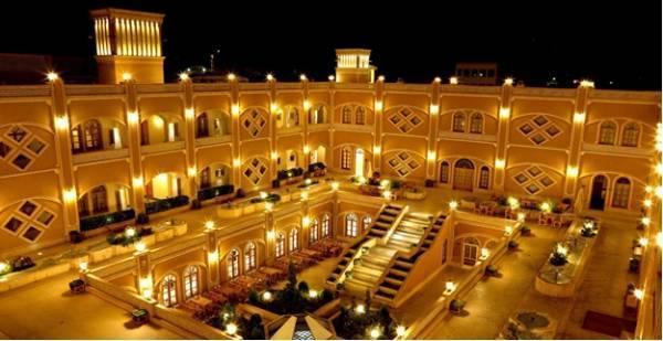 بهترین هتل های یزد از دید گردشگران و گردشگر ها