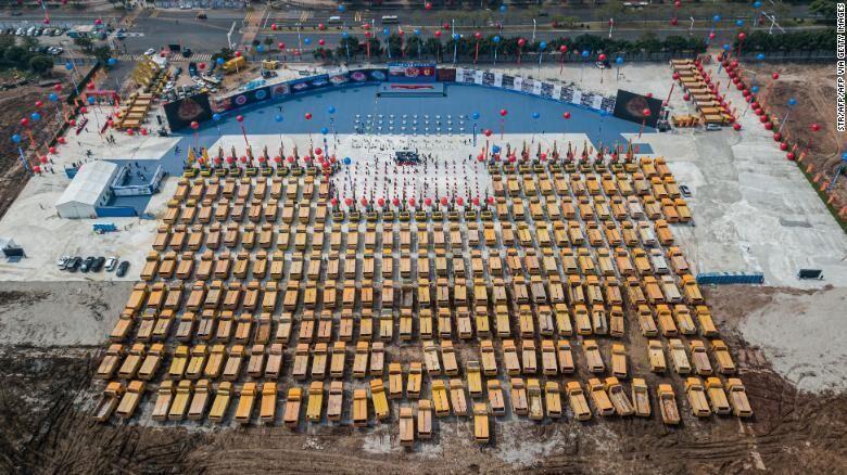 عظیم ترین استادیوم جهان در چین ساخته شد