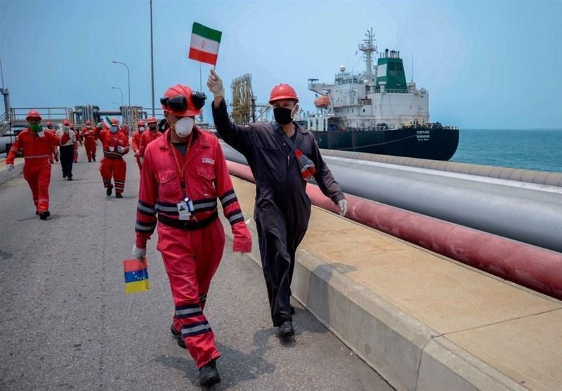 ونزوئلا ورود نفتکش های ایران را جشن گرفت