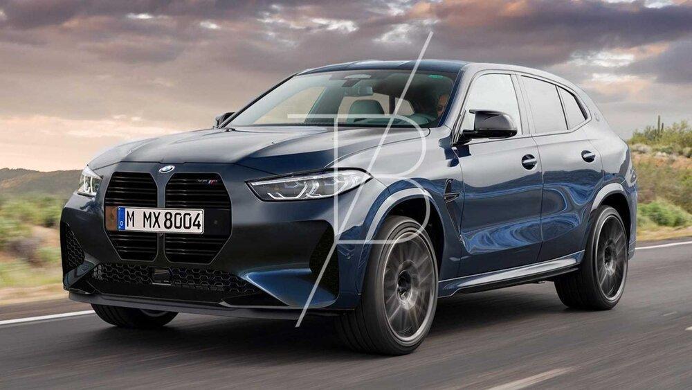 معرفی X8 M بی ام و تا خاتمه سال؟ ، BMW X8 هیبریدی با 750 اسب بخار!