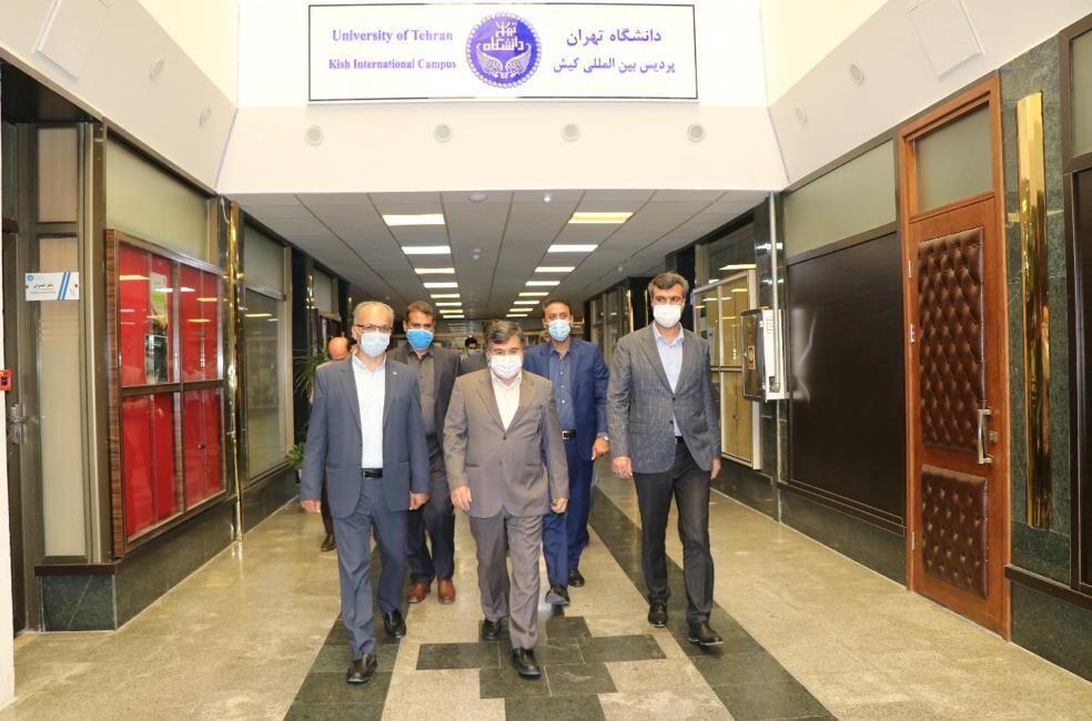 خبرنگاران پردیس کیش دانشگاه تهران می تواند معین دانشگاه های استان گردد